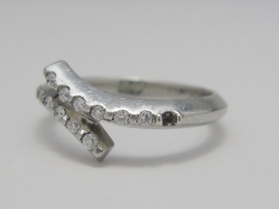 【Before】指輪の石とれ修理