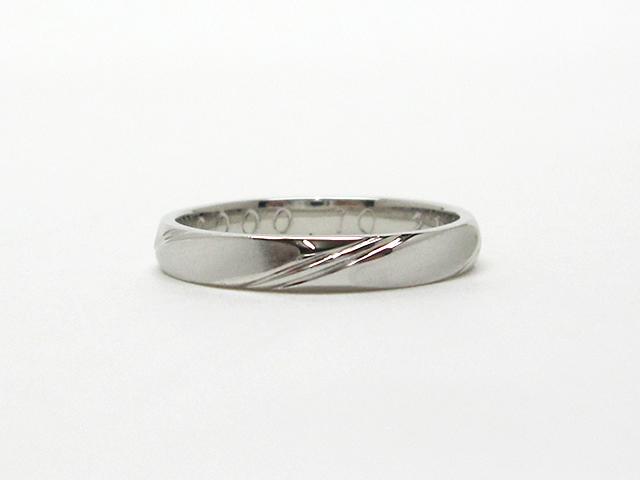 【After】ずっと着けていたリングがピカピカに!大切な指輪のサイズ直し。
