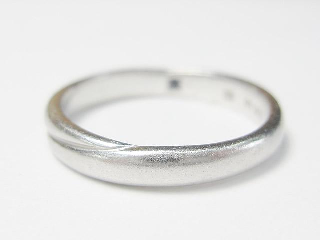 【Before】サイズが小さく入らなかった指輪のサイズ直し