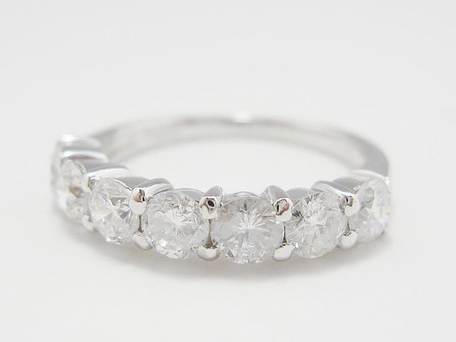 【After】石が外れてなくなってしまった指輪が、綺麗に直りました!