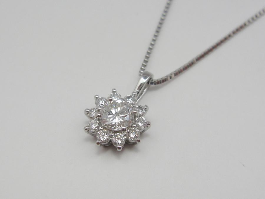 【After】ダイヤリングをペンダントへリフォーム