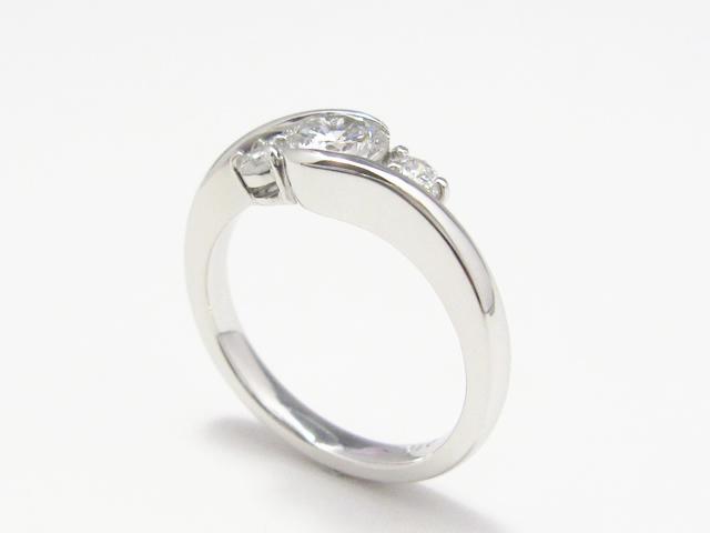 【After】婚約指輪 普段使いリングへリフォーム