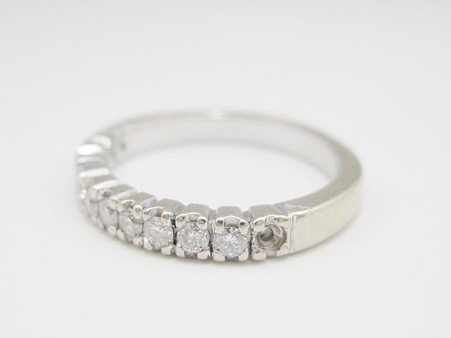 【Before】石が無くなった指輪が元通り綺麗になりました!