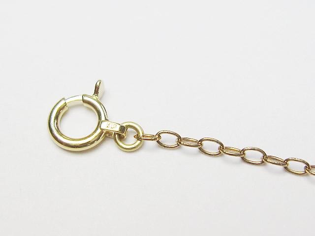 【After】ネックレスの金具交換!爪に優しく使いやすくなりました。