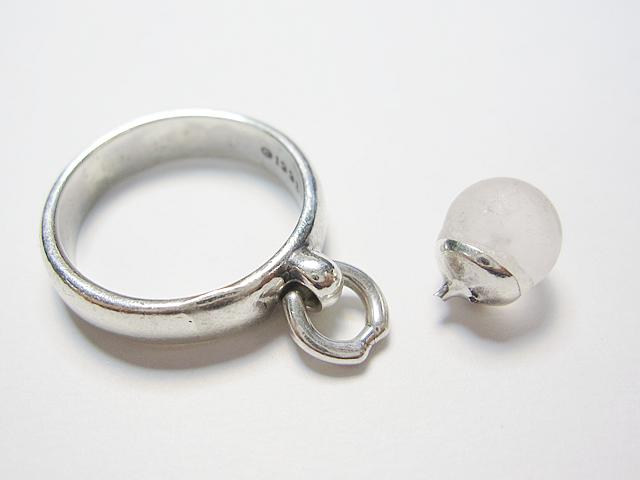 【Before】補強もしっかり!壊れた指輪パーツが元通りに