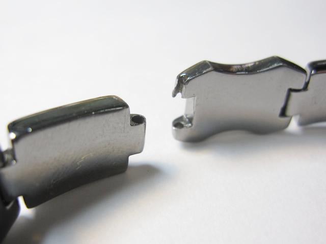 【Before】SV製ブレスレットの切れ修理  擦り切れてしまったブレスレットが綺麗に仕上がりました